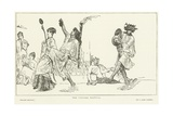 The Vintage Festival Giclee Print by Sir Lawrence Alma-Tadema