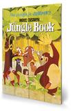 The Jungle Book - Jumpin' Znak drewniany