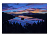 Emerald Bay Sunrise Lake Tahoe Prints by Michael Polk