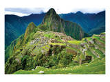 Machu Picchu Overview Posters