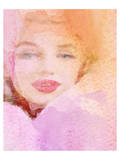 Lady In Rose Cloud Prints by Irena Orlov