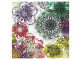 Floral Pattern I Poster by Irena Orlov