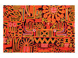 Inca Design Pattern Print