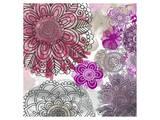 Floral Pattern II Print by Irena Orlov