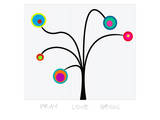 Bloom Tree Pray, Love, Grow Prints