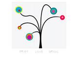 Bloom Tree Pray, Love, Grow Prints