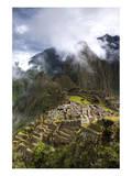 Machu Picchu Sunny Classic Posters by Nish Nalbandian
