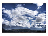 Pyramids Mountains and Clouds Prints by Nish Nalbandian