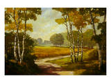 Country Walk I Art by Graham Reynolds