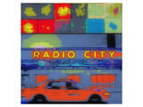 Radio City Prints by Irena Orlov
