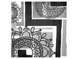 Floral Art Deco Pattern II Art by Irena Orlov