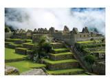 Machu Picchu Inca Architecture Affiches