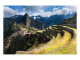 Machu Picchu Panoramic View Art