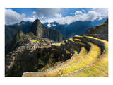 Machu Picchu Panoramic View Art