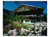 Farmhouse in Upper Bavaria, Bavaria, Germany Prints