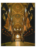 Interior view St. Paul's Cathedral, London, South England, Great Britain hph15 Prints
