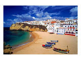 View of Carvoeiro, Algarve, Portugal Poster