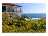 Holiday Home with Garden and Swimming Pool above the Sea, Jardim do Mar, Madeira Island, Portugal Poster