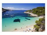Cala Salada near Sant Antoni de Portmany, Island of Ibiza, Balearic Islands, Spain Art