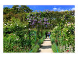 Claude Monet's Garden in Giverny, Department of Eure, Upper Normandy, France Prints