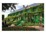 Claude Monet's House and Garden in Giverny, Department of Eure, Upper Normandy, France Prints