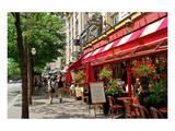 Brasserie La Taverne on Boulevard des Italiens, Paris, Ile de France, France Prints