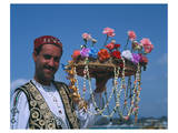 Flower Seller, Tunisia Posters