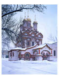 St. Nikolas Monastery, Moscow, Russia Print