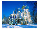 Trinity St. Sergius Monastery, Sergiev Posad, Golden Ring, Russia Posters