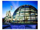 Cupola Quadriga Gate Berlin Poster