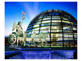 Cupola Quadriga Gate Berlin Prints
