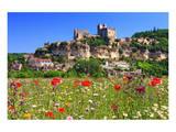 View of Beynac Castle in Beynac-et-Cazenac on Dordogne River Posters