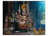 Quan Am figure in the Ju Di Pagoda, Ho Chi Minh City, Southern Vietnam Nam Bo, Vietnam Prints