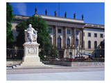 Humboldt University, Unter den Linden, Berlin, Germany Prints