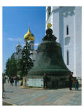 The Tsar Bell in the Kremlin, Moscow, Russia Prints