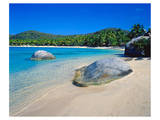 Little Dix Bay near The Valley, Virgin Gorda Island, British Virgin Islands, Caribbean Posters