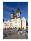 Church of Our Lady Before Tyn on Old Town Square in Prague, Central Bohemia, Czech Republic Art