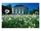 Badenburg in the Palace Garden of Nymphenburg Palace, Munich, Upper Bavaria, Bavaria, Germany Art