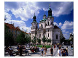 St. Nicholas Church, Old Town Square, Prague, Central Bohemia, Czech Republic Posters