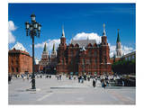 Manege Square and the State Historical Museum, Moscow, Russia Posters