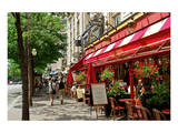 Brasserie La Taverne on Boulevard des Italiens, Paris, Ile de France, France Art