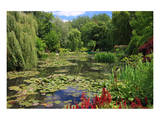 Claude Monet's Water Garden in Giverny, Department of Eure, Upper Normandy, France Prints