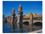 Oberbaum Bridge Spree, Berlin Prints