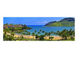 Kalapaki Bay at the Marriott Hotel, Lihue, Island of Kauai, Hawaii, USA Art