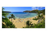 View of Hanauma Bay, Island of Oahu, Hawaii, USA Prints