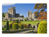 Drummond Castle, Perthshire, Scotland, Great Britain Prints
