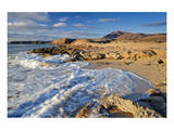 Beach at Playa Papagayo near Playa Blanca, Lanzarote, Canary Islands, Spain Prints