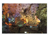 In Hang Dau Go Cave, Hang Dau Go Island in Ha Long Bay, North Vietnam, Quang Ninh, Vietnam Print