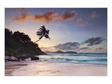 Anse Severe beach, La Digue Island, Seychelles Art