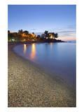 Beach of Santa Maria Navarrese, District of Baunei, Province of Ogliastra, Sardinia, Italy Prints